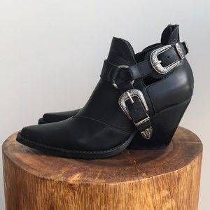 Jeffrey Campbell x Free People Icon Western Boot